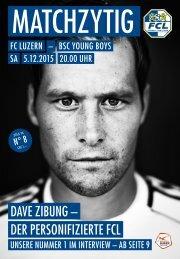 FC LUZERN Matchzytig N°8 15/16 (RSL 18)