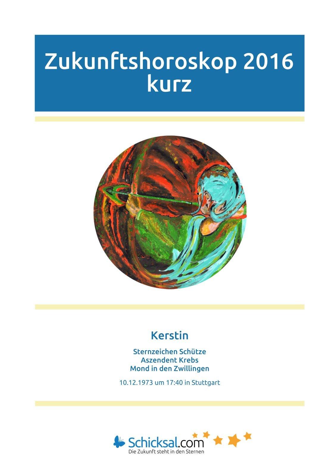 Schütze - Zukunftshoroskop 2016 - Kurzform