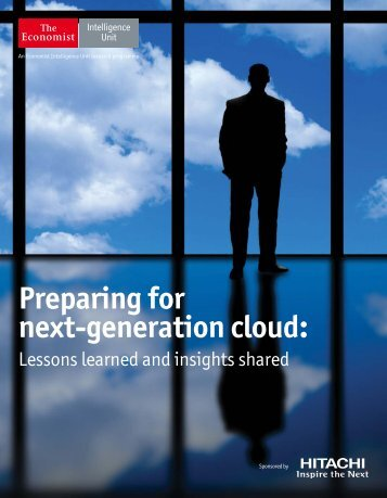Preparing for next-generation cloud