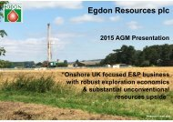 Egdon Resources plc