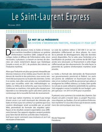 Le Saint- Laurent Express