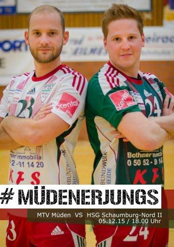 MüdenerJungs - HSG Schaumburg-Nord II