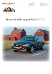 Volvo_XC_70_Hundeeinrichtungen