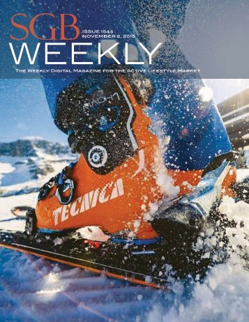 The Weekly Digital Magazine for the Active Lifestyle Market