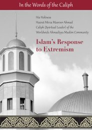 In the Words of the Caliph Islam's Response to Extremism