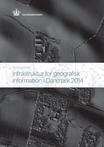 Infrastruktur for geografisk information i Danmark 2014