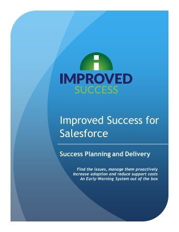 Improved Success for Salesforce