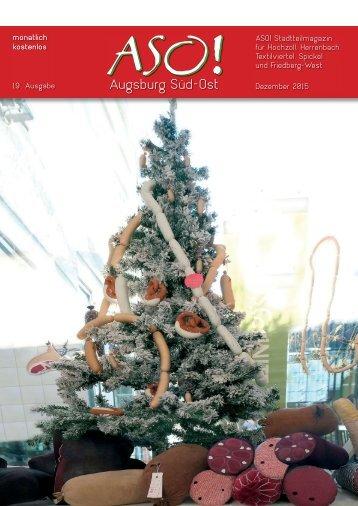 ASO-Augsburg Süd-Ost, Dezember 2015
