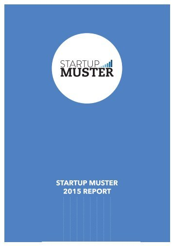 STARTUP MUSTER 2015 REPORT
