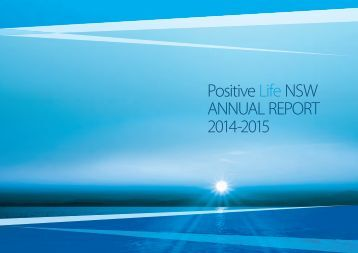 Positive Life NSW ANNUAL REPORT 2014-2015