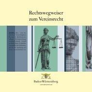 Rechtswegweiser zum Vereinsrecht - Landes-Kanu-Verband Berlin
