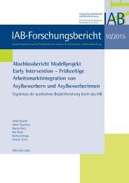 IAB Forschungsbericht