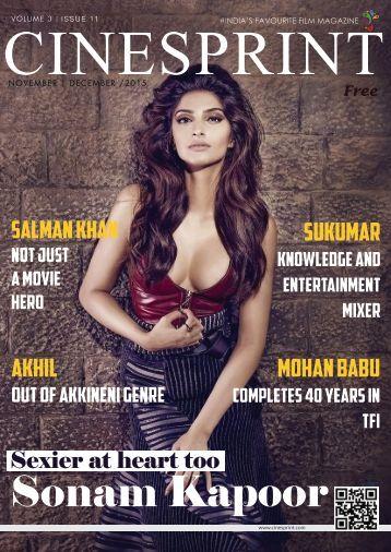 Cinesprint E-Magazine December 2015