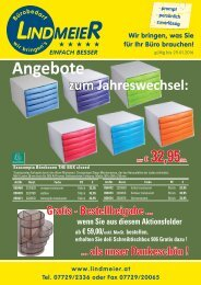 Lindmeier KG Bürobedarf Jahreswechsel 15-16