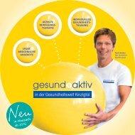 gesund+aktiv in der Gesundheitswelt Kinzigtal
