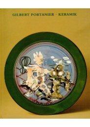 Gilbert Portanier - Keramik