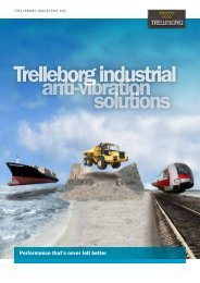 Trelleborg industrial anti-vibration solutions