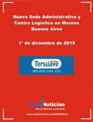 Album 1° -12-2015 Tersuave Nueva Sede Administrativa y Centro Logístico en Moreno Buenos Aires
