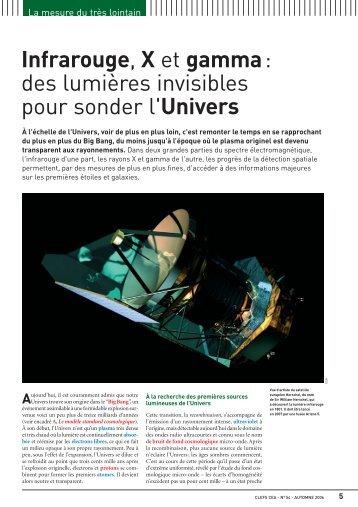 Infrarouge, X et gamma: des lumières invisibles pour sonder l ... - CEA