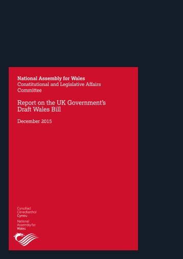 Draft Wales Bill