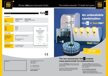 product leaflet - FAN GmbH