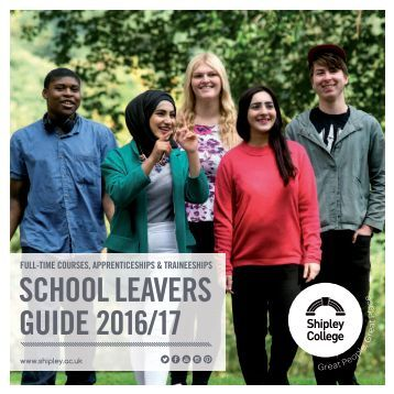 SCHOOL LEAVERS GUIDE 2016/17