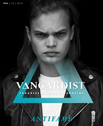 VANGARDIST MAGAZINE - Issue 56 - The Antifame Issue