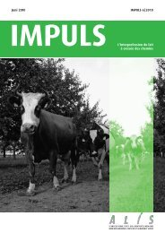 IMPULS L'Interprofession du lait - ALIS