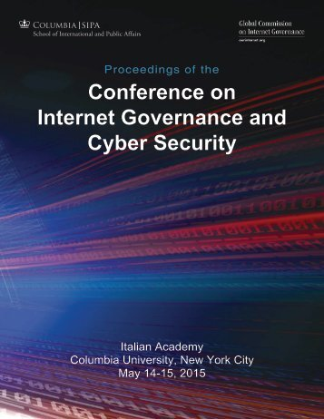 Conference on Internet Governance and Cyber Security