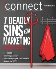 Connect Magazine - Bennett Graphics