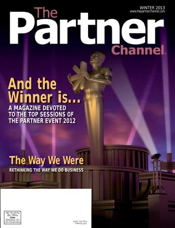 The Partner Channel Magazine Winter 2013