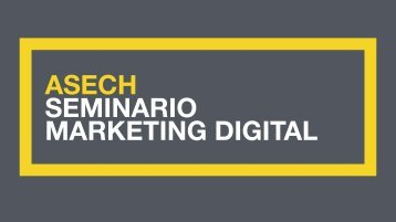 SEMINARIO MARKETING DIGITAL