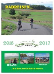 Green Island Tours Prospekt  2016/17