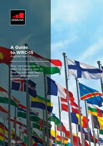 A Guide to WRC-15