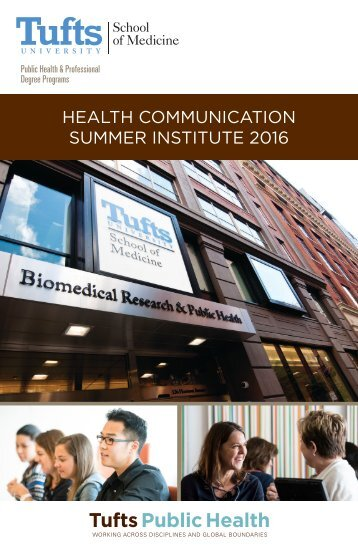 HEALTH COMMUNICATION SUMMER INSTITUTE 2016