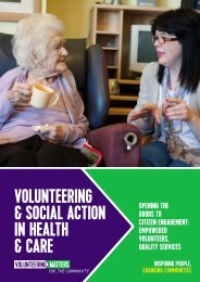 & Social Action in Health & Care