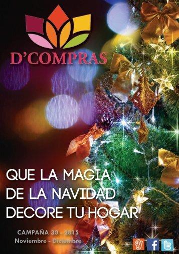 Catálogo D'Compras Diciembre 2015