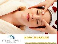 Body Massage - Endless Beauty