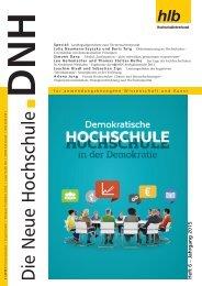 Die Neue Hochschule Heft 6/2015