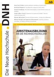 Die Neue Hochschule Heft 4/2013