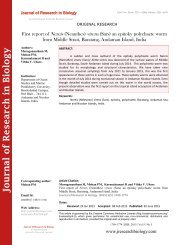 First report of Nereis (Neanthes) virens (Sars) an epitoky