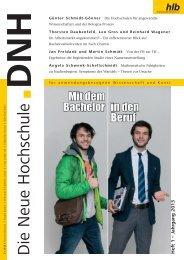 Die Neue Hochschule Heft 1/2013