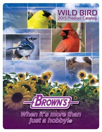 Wild Bird Product Catalog 2013 - FM Brown's