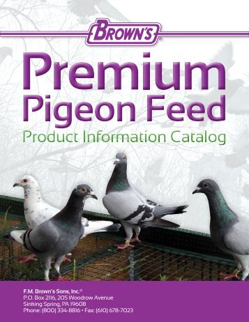 Pigeon Catalog 2013 - FM Brown's