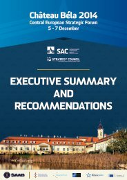 EXECUTIVE SUMMARY AND RECOMMENDATIONS