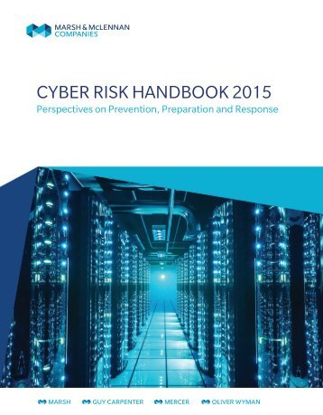 CYBER RISK HANDBOOK 2015
