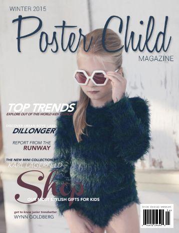 Poster Child Magazine, Winter 2015