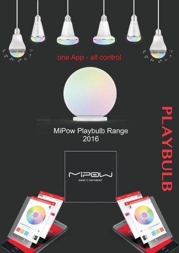 Mipow Playbulb_Smart Home LEDs 2015/2016
