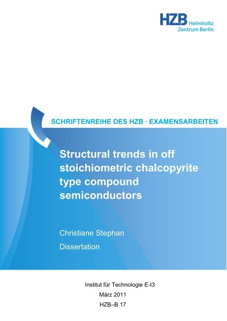 Structural trends in off stoichiometric chalcopyrite type compound ...