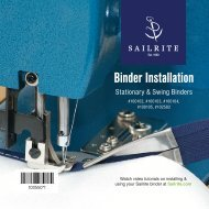 Binder Installation